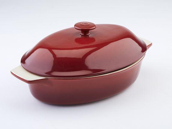 Plat de cuisson PADERNOSignature, céramique, avec couvercle, 2,5pintes Image de l'article
