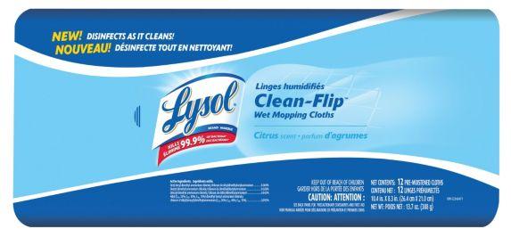 Chiffons de nettoyage humides Lysol Clean-Flip Image de l'article