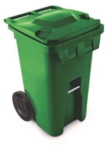 Wheeled Garbage Bin American Grip, 64-gal
