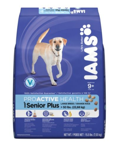 Nourriture pour chiens âgés de grande taille Iams, 6 kg