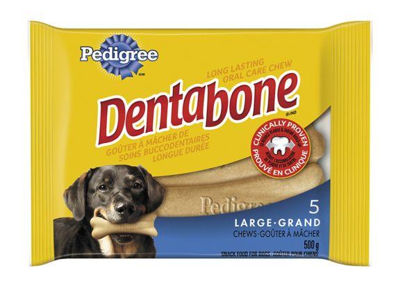 Pedigree 5 Pack Dentabone Dog Treat Product image
