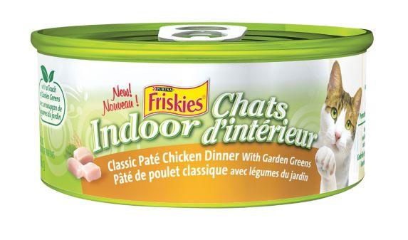 Purina Friskies Indoor Classic Chicken Cat Food, 156-g Product image