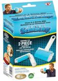 Schticky Lint Roller with Travel Size Roller