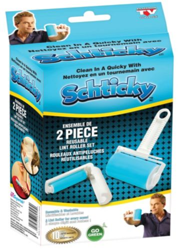 Schticky Lint Roller with Travel Size Roller Product image