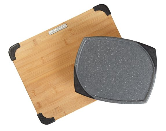 Planches KitchenAid, bambou et gris