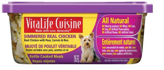 Nourriture pour chien Vitalife Cuisine, poulet