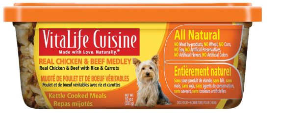 Vitalife Cuisine Chicken and Beef Dog Food