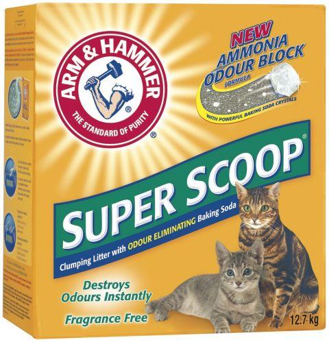 Litière pour chat Arm & Hammer Super net, 12,7 kg