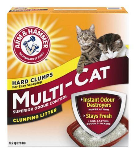 Arm & Hammer Multi-Cat Litter, 12.7-kg