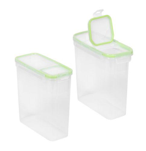 4 Piece Slim Rectangle Container
