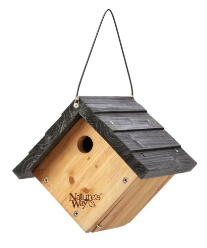Curved Roof Clipper Bird House