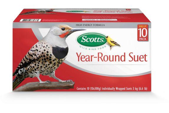 Scotts Year-Round High-Energy Suet, 10-pk