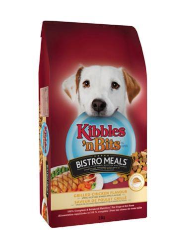 Kibbles 'n Bits 3.6 kg Bistro Meals Chicken Dog Food