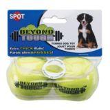 Spot Beyond Tough Tennis Balls, 2.5-in, 2-pk   Spotnull