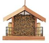 Mangeoire à oiseaux en cèdre avec stations pour suif | Woodstreamnull