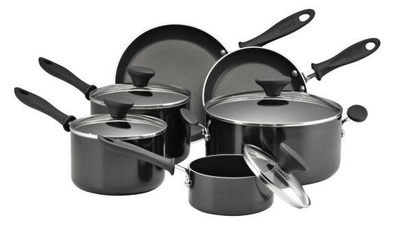 Bravetti Non-Stick Cookware Set, 10-pc