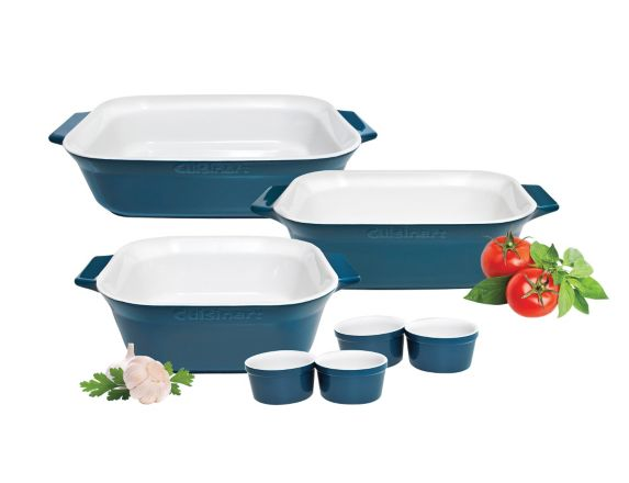 Cuisinart Ceramic Bakeware Set, 7-pc Product image