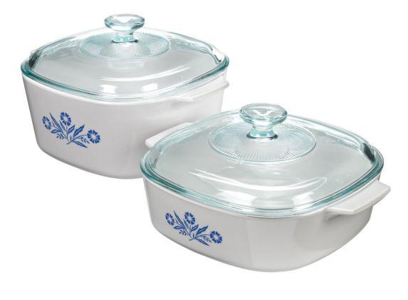 Plats Corningware en vitrocéramique, 4 pces