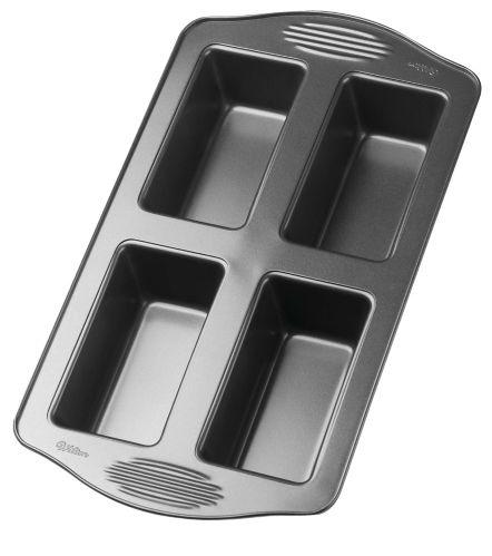 Wilton Gourmet Choice 4-Cavity Loaf Pan