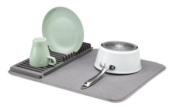 type A Comfort Dish Drying Rack & Mat