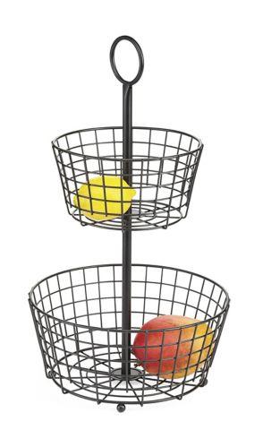 Panier à fruits Type A Perspective, 2 niveaux