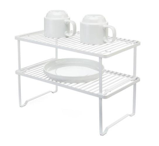 type A Linear Cupboard Shelf, White