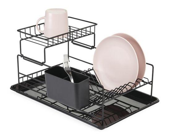 Égouttoir à vaisselle à 2 niveaux Type A Perspective