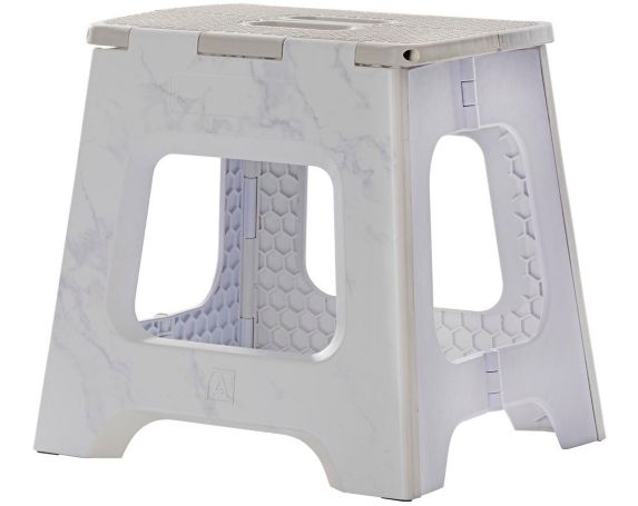 type A Alpha Folding Step Stool, 13-in