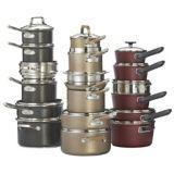 PADERNO Classic Champagne Bronze Non-Stick Cookware Set, 12-pc   Padernonull