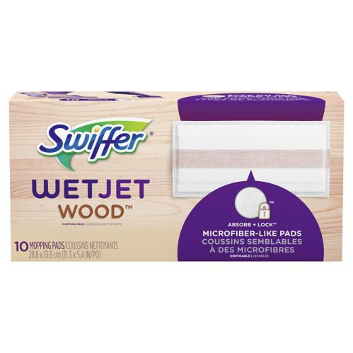 Swiffer Wet Jet Wood Cleaning Pad, 10-ct