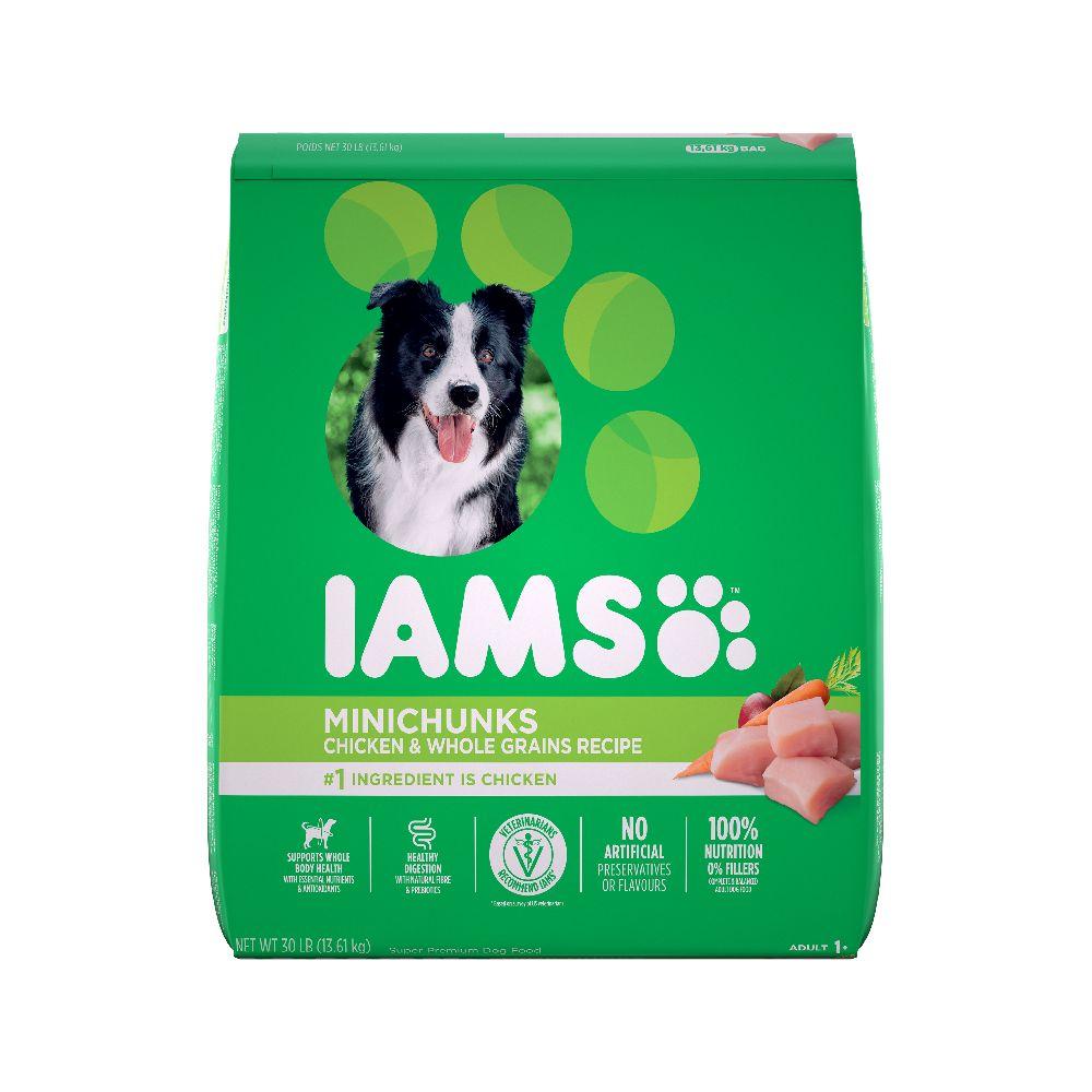 Iams PROACTIVE HEALTH Minichunks Adult Dry Dog Food, 13.6-kg