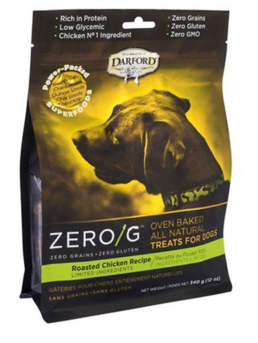 Gâteries de poulet rôti pour chiens Darford ZERO/G