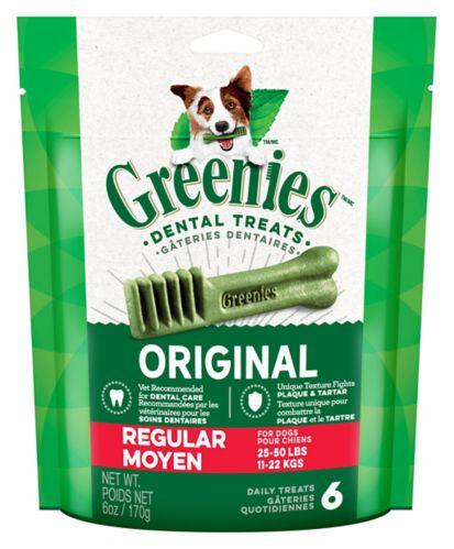 GREENIES™ Regular Dental Dog Treats, 6-oz