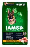 Nourriture sèche pour chiens adultes avec poulet et dinde véritables IAMS Proactive Health Teneur élevée en protéines, 9,98 kg | Iamsnull