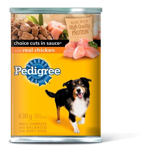 Pedigree® Choice Cuts In Sauce Chicken Dog Food, 630-g