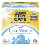 Purina® Tidy Cats® Lightweight Clumping Cat Litter with Glade® Clear Springs™, 5.44-kg | Tidy Catsnull