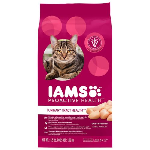 IAMS™ PROACTIVE HEALTH™ Urinary Tract Health with Chicken Adult Dry Cat Food, 3.5-lb