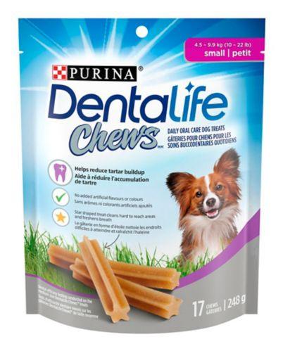 DentaLife Chews Small Daily Oral Care Dog Treats, 248-g