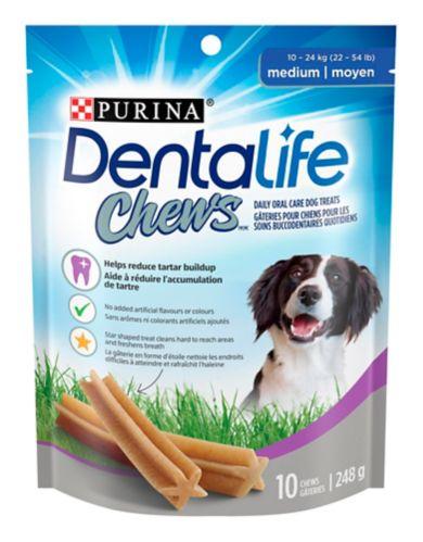 Gâteries de soins buccodentaires quotidiens DentaLife Chews pour chiens moyens, 248 g Image de l'article