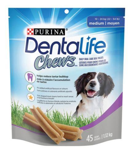 DentaLife Chews Medium Daily Oral Care Dog Treats, 1.12-kg