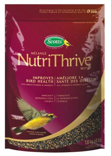 Graines pour oiseaux sauvages Scotts, NutriThrive, 1,8 kg