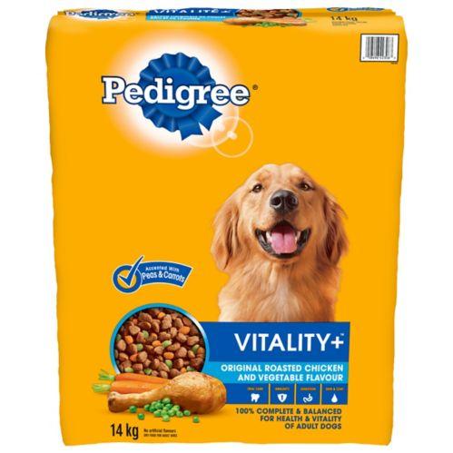 Aliments pour chiens Pedigree Vitality, saveur originale