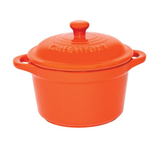 Cuisinart Mini Casserole Dish, Orange, 5.5-in