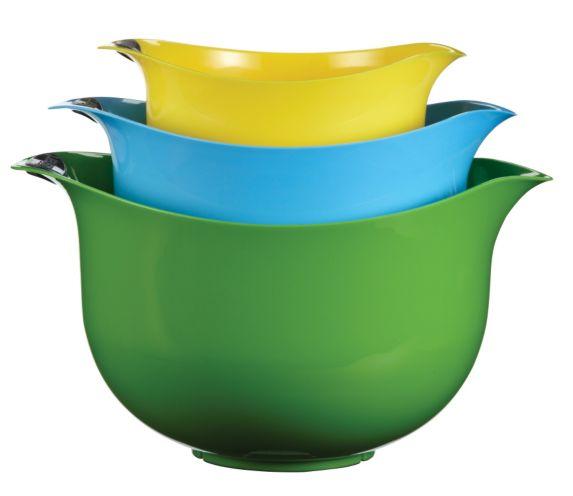 Cuisinart Multi-Coloured Plastic Mixing Bowl Set