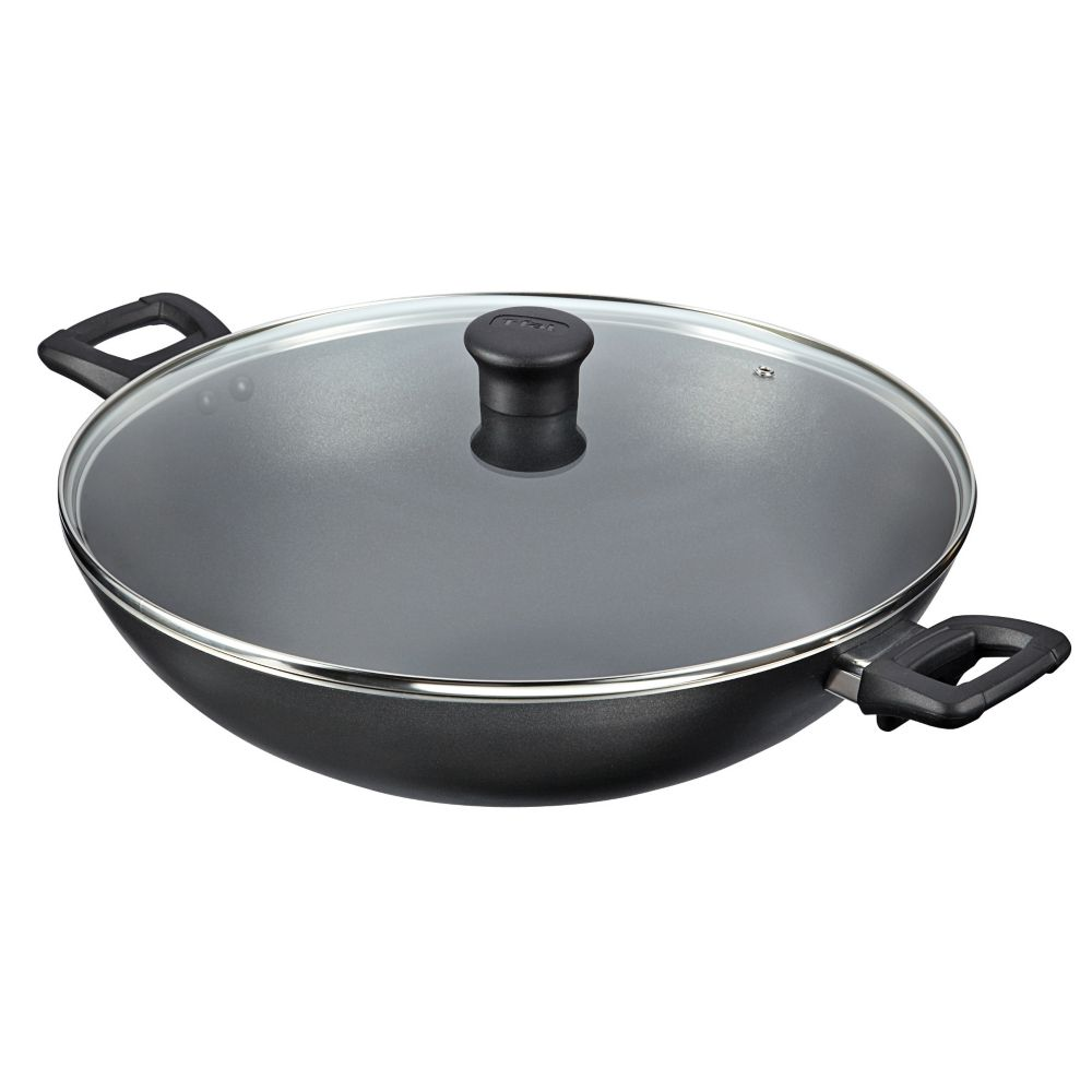 T-Fal Jumbo Wok with Lid, 14-in