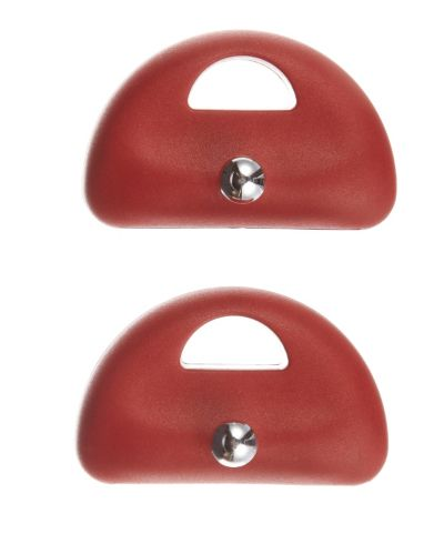 Lagostina Side Handles, Red, 2-pk