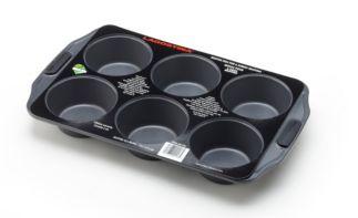 facile /à nettoyer et Parfait pour faire Jumbo Muffins ou Mini g/âteaux des R/ésultats parfaits antiadh/ésif 6/tasses Moule /à muffins po/êles de cuisson antiadh/ésif