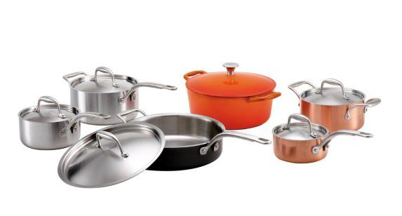 Lagostina Collezione Pro Cookware Set, 12-pc