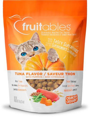 Gâteries cuites pour chats Fruitables, thon et citrouille, 2,5 oz