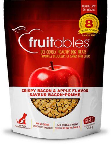 Fruitables® Baked Dog Treats, Crispy Bacon & Apple, 7-oz